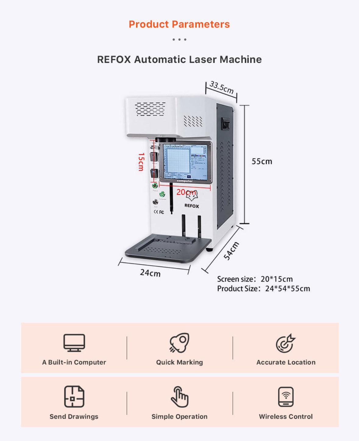 REFOX Laser Marking Machine