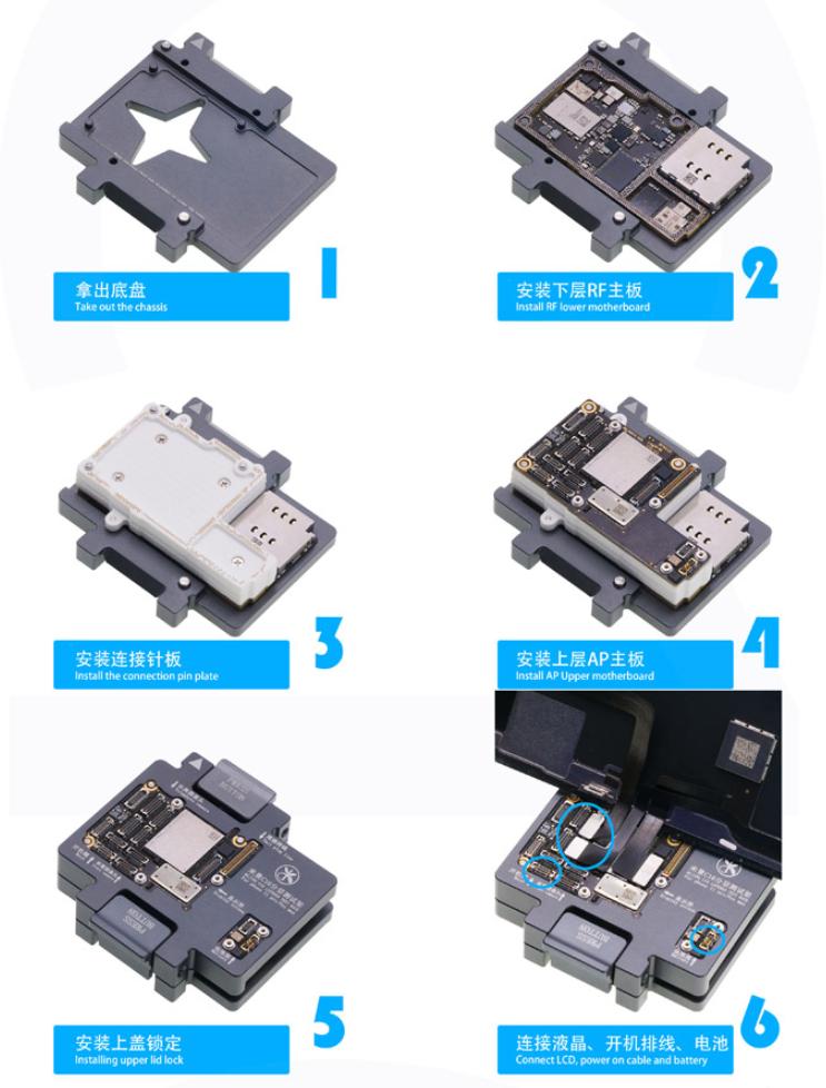 iphone 11 Pro Motherboard Function Test Fixture