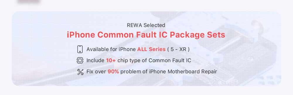 iphone 7 plus Common Fault IC Package