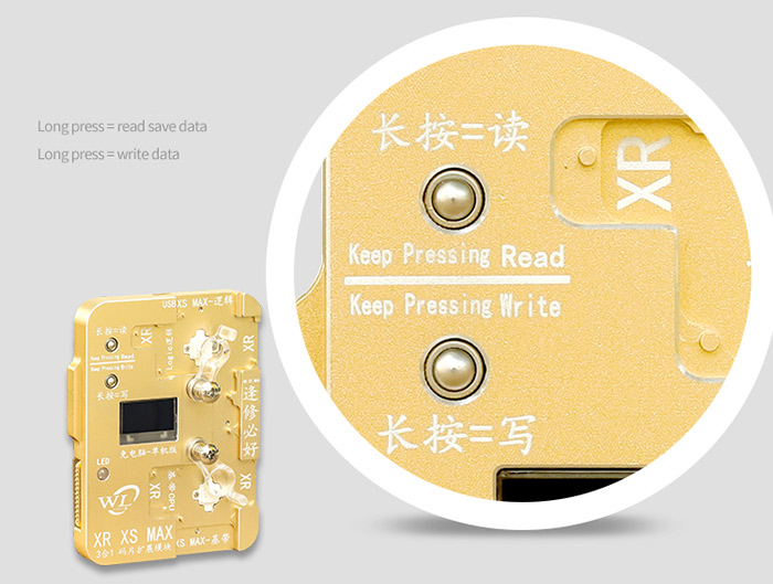 iPhone 7-XS Max Chip Programmer Module